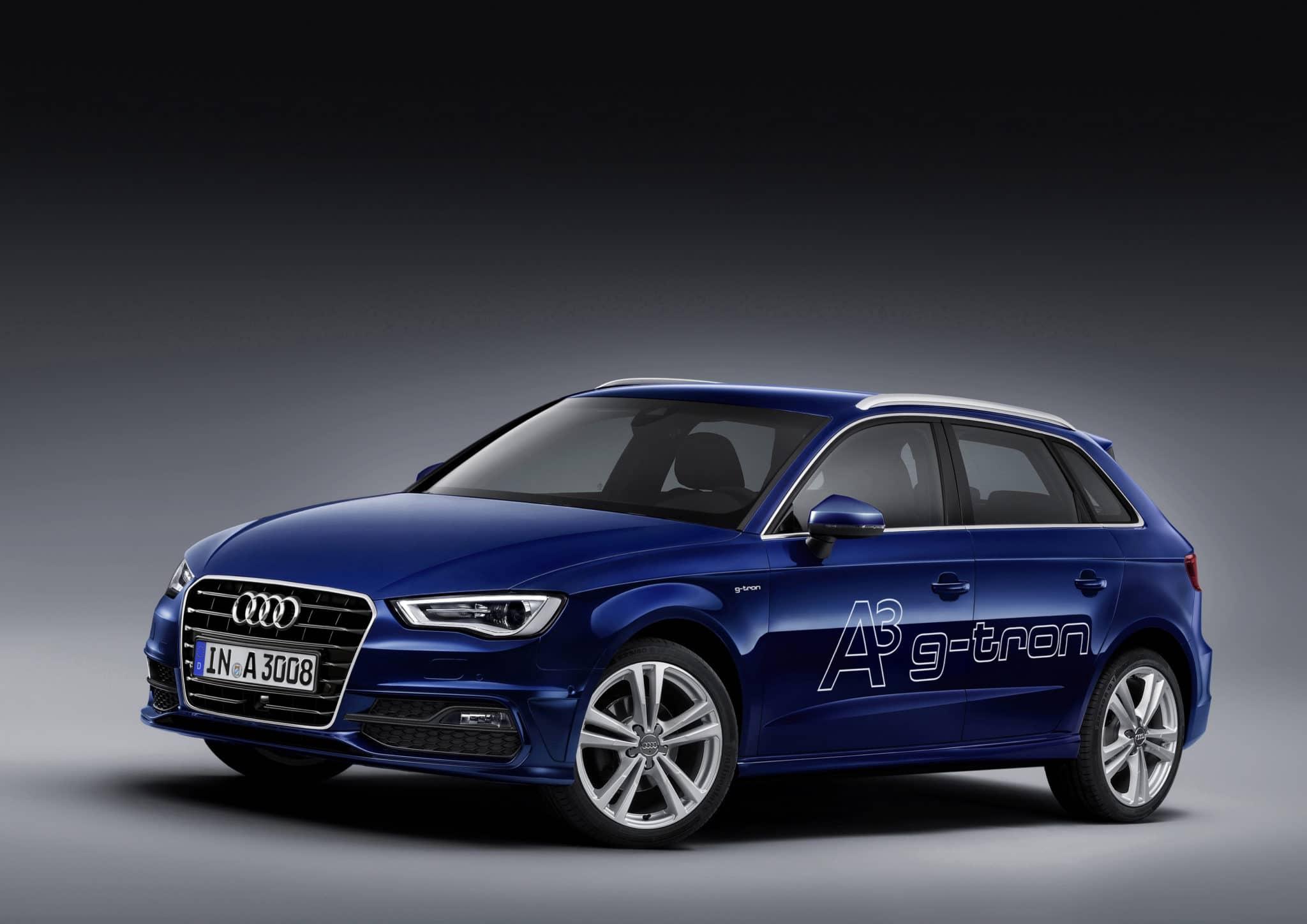 Nuova Audi A3 Sportback g-tron: una cinque porte compatta e sostenibile