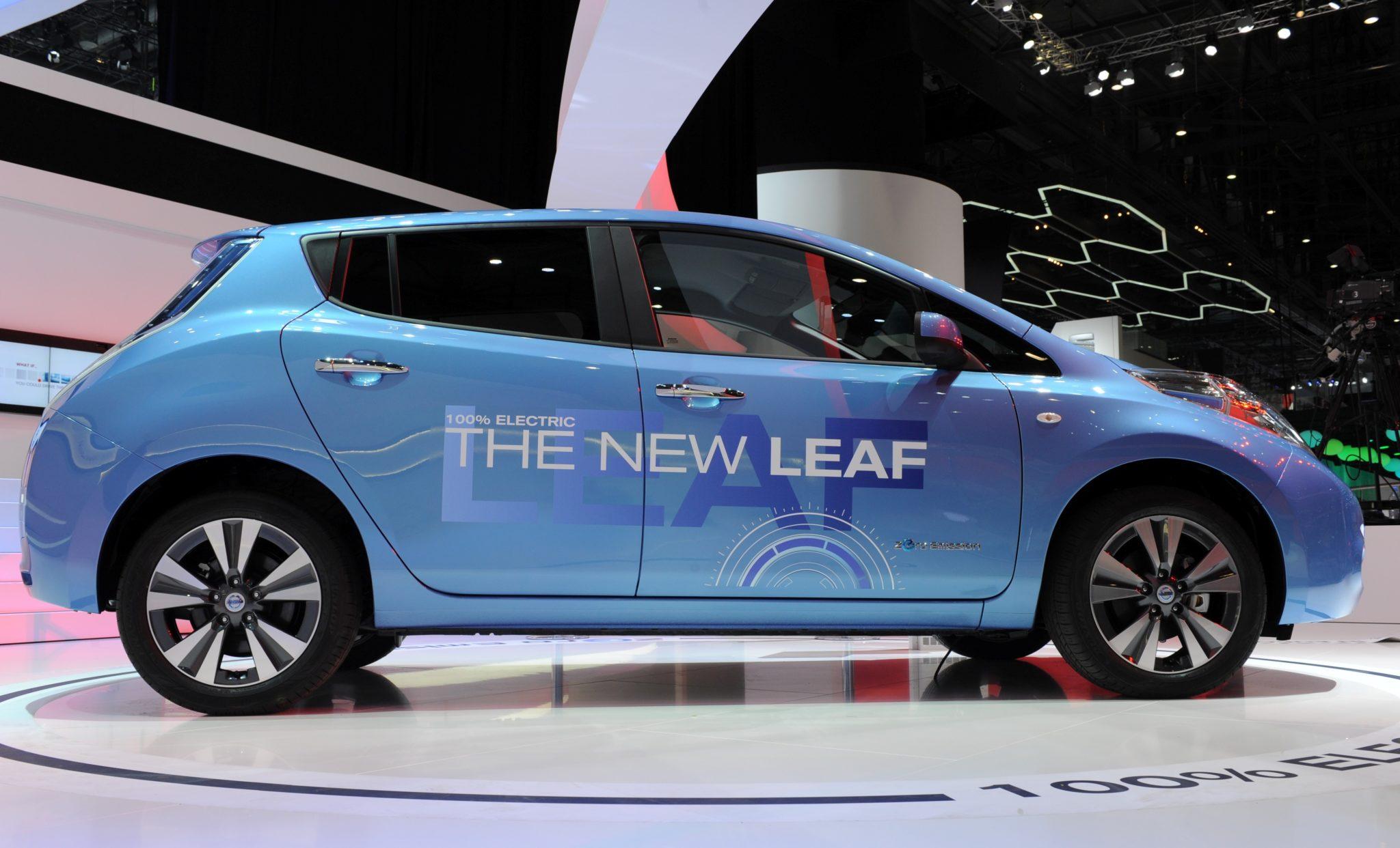 Nuova Nissan LEAF, l'auto elettronica presentata a Ginevra