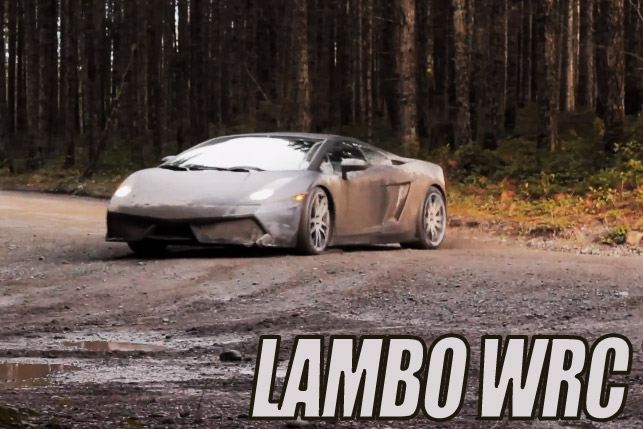 Lamborghini Gallardo WRC: incredibile .. ma vero