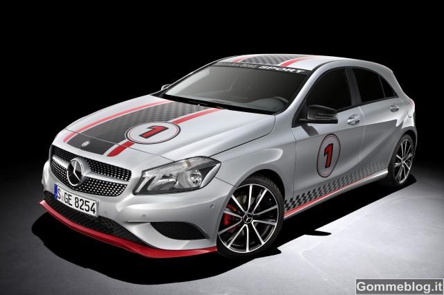 Mercedes Classe A: nuovi accessori ancora più Sport