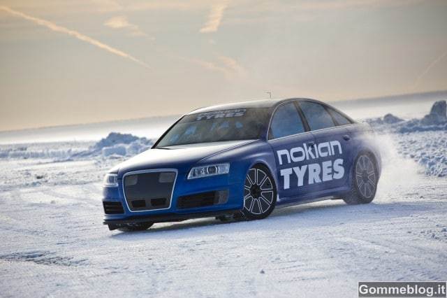 Nokian Fastest on Ice: Nuovo record mondiale. 335,713 km/h