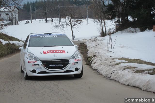Rally de il Ciocco: Il campione italiano Andreucci e la 208 R2 1