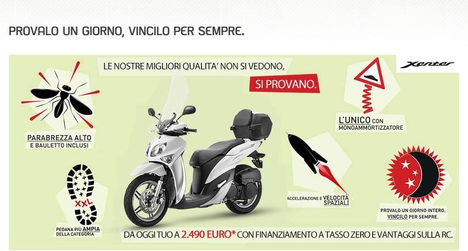 Yamaha lancia gli incentivi di primavera: prova Xenter 125 e 150 e compralo ad una tariffa agevolata