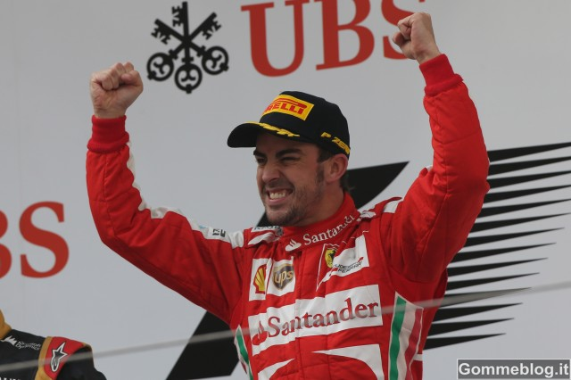 F1: In Cina Ferrari al Top con Alonso e Pirelli