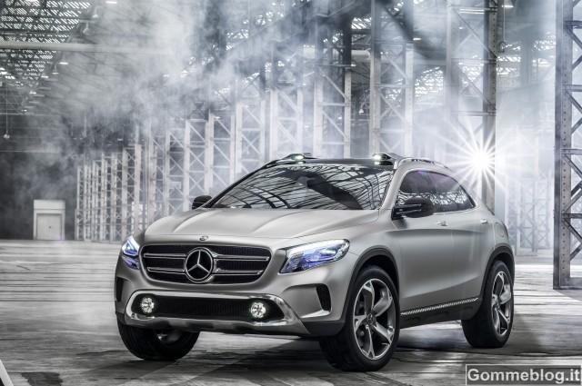 Mercedes Concept GLA: ecco il futuro SUV della Stella
