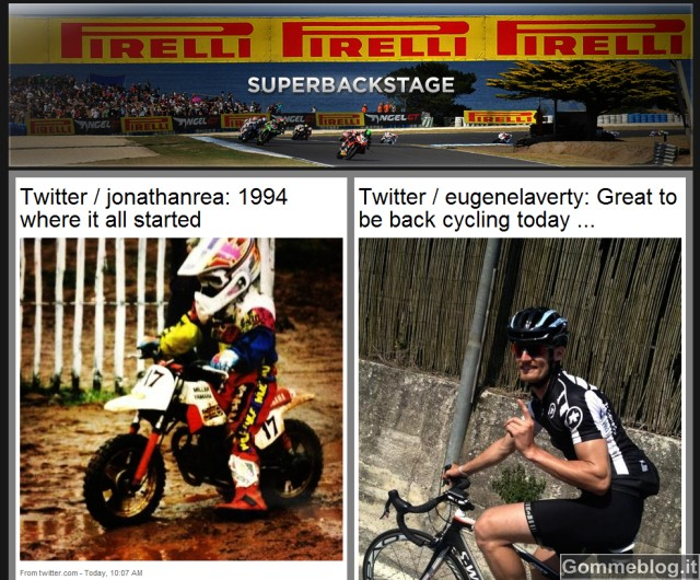 Pirelli Superbackstage: nuovo aggregatore di notizie sul Campionato Mondiale eni FIM Superbike 1