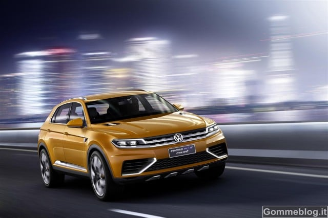 Volkswagen CrossBlue Coupe - 0