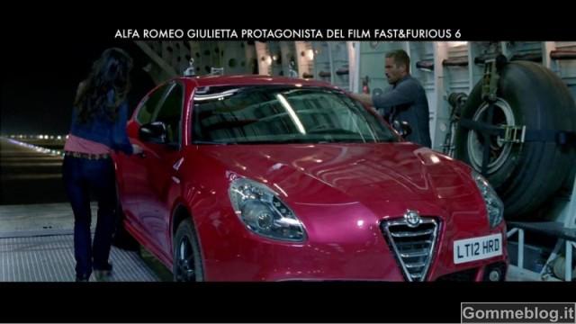 "Alfa Romeo Giulietta è la nuova star di ""Fast&Furious 6"" 3"