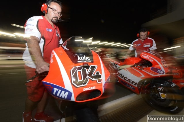 MotoGP 2013: Inizio positivo per il Ducati in Qatar