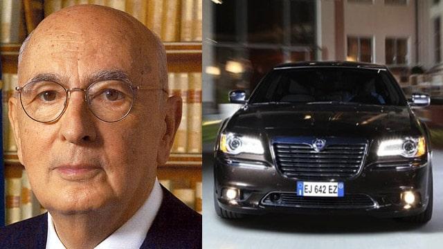 Napolitano Presidente: le Auto più importanti del Presidente della Repubblica