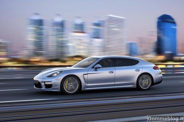 Porsche Panamera S E-Hybrid: arriva anche il passo allungato