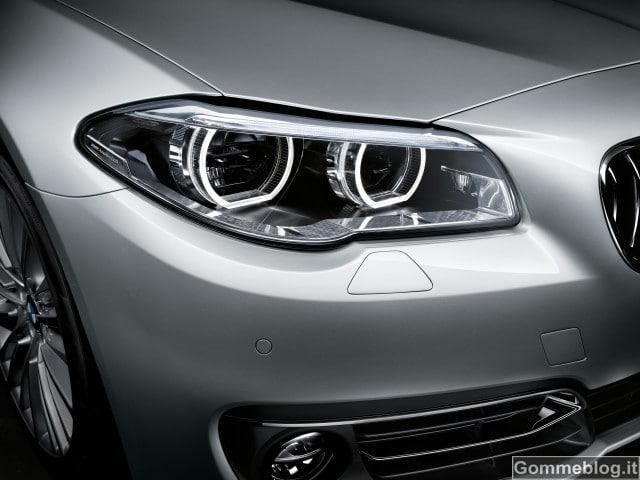 Nuova BMW Serie 5: nuovo Look e nuovi Motori