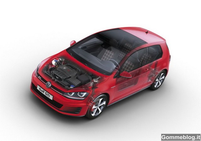 Nuova Volkswagen Golf GTI - 22