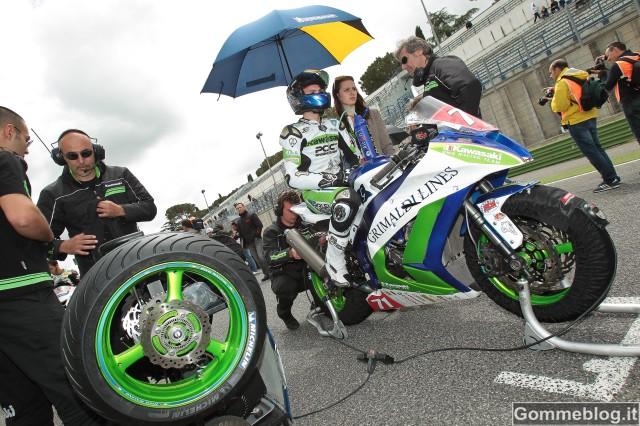 Michelin: A Vallelunga Vizziello 5° nella Superbike CIV