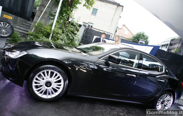 La nuova Maserati Ghibli sceglie gomme Pirelli