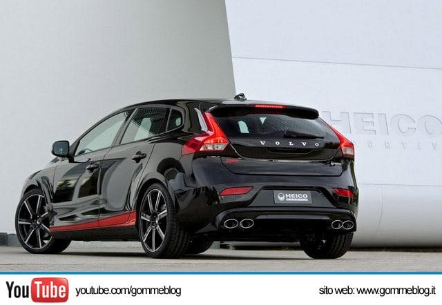 Tuning Volvo V40 Heico Sportiv Pirelli Edition