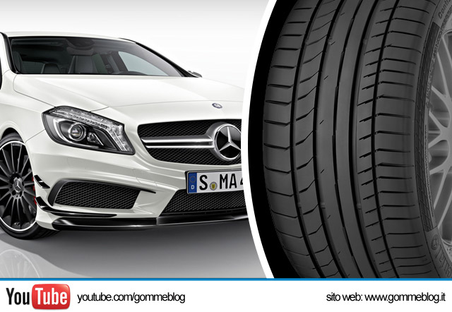 Mercedes AMG Gomme Continental