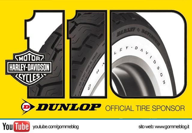 Pneumatici Harley-Davidson: Dunlop è Official Tire Sponsor dei 110 anni di Harley-Davidson