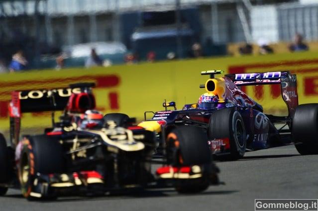 Gran Premio d'Inghilterra 2013: Disastro Gomme