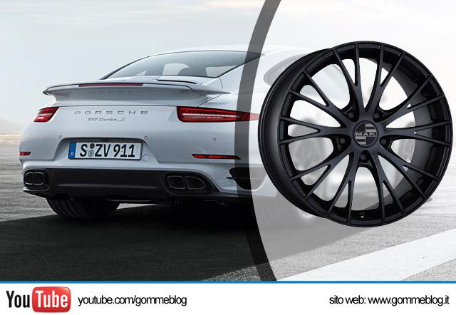 Cerchi in lega MAK Rennen: multi-razze dedicato ai Porsche Drivers