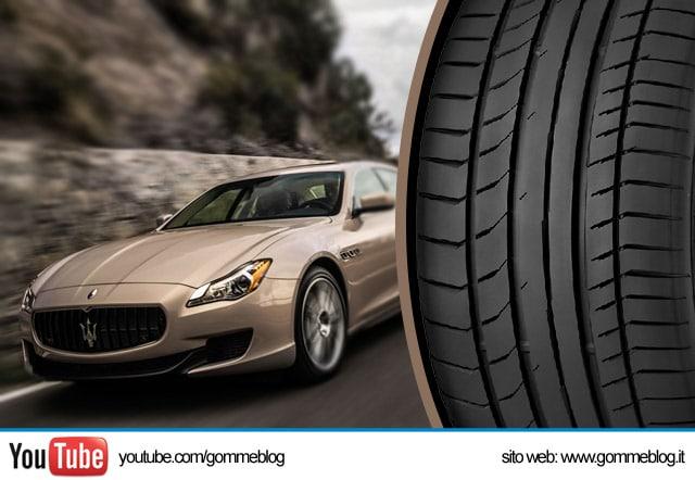 Pneumatici Maserati: Continental ContiSportContact 5 P