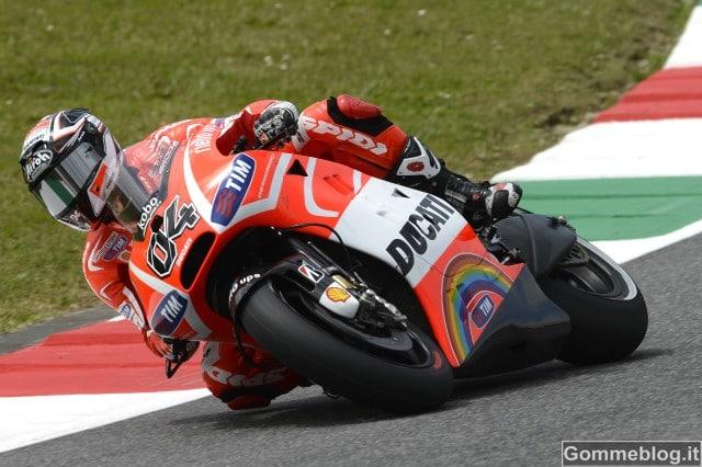 MotoGp Mugello Ducati: caduta di Dovizioso nelle libere di venerdì 4