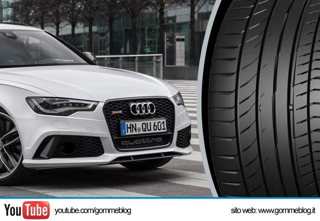 Pneumatici Audi: Ecco le nuove Omologazioni Continental