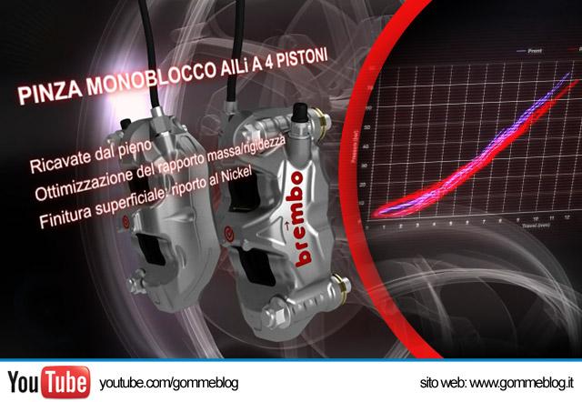 I segreti dell'impianto frenante Brembo per la MotoGP