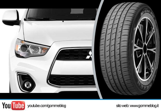Nexen Tire 1 equipaggiamento Mitsubishi Outlander Sport