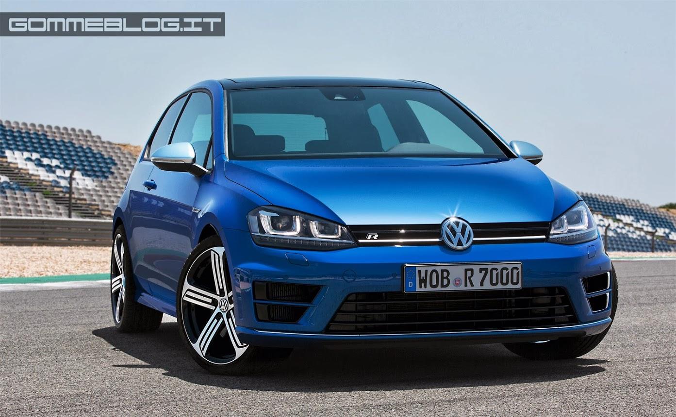 Nuova VW Golf R: 300 CV e Trazione 4Motion