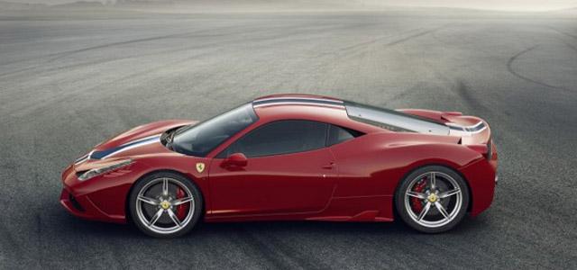 Ferrari 458 Speciale calza gomme Michelin Pilot Sport Cup 2 1