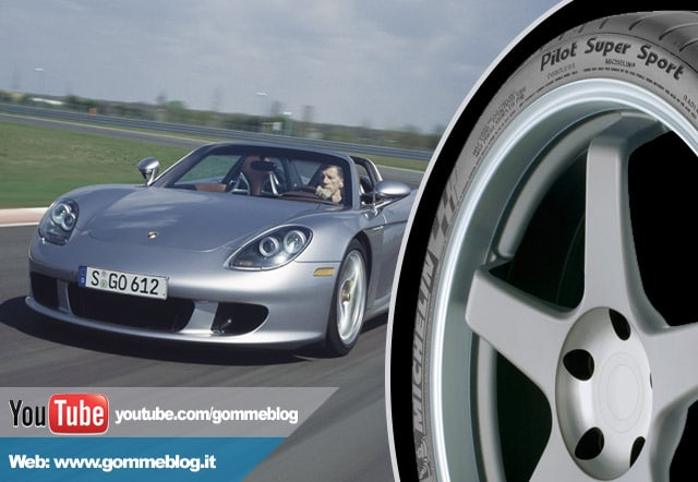 "Porsche Carrera GT : Michelin Pilot Super Sport con specifica ""N0"""