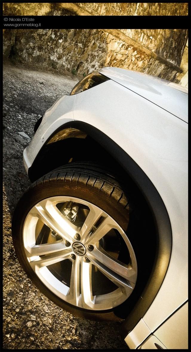 VW Tiguan R-Line Test Dunlop SportMaxx GT