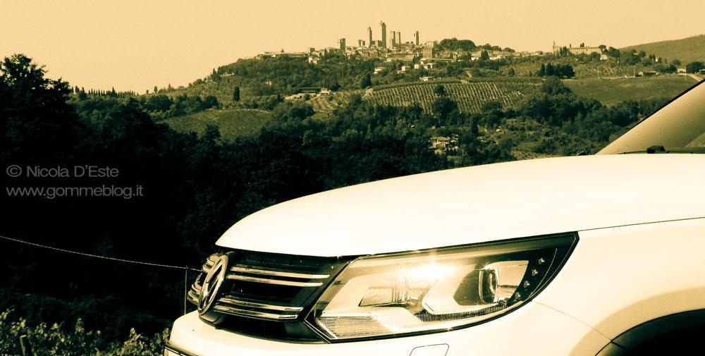 Volkswagen Tiguan R-Line: Test Gomme Dunlop SportMaxx GT 1