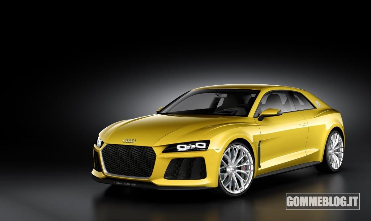 Audi Sport quattro Concept: un 700 CV da 40 Km/L di consumo