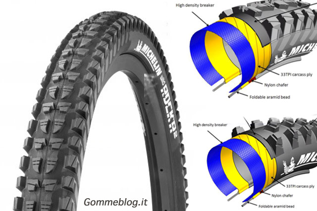 Pneumatici MTB: Michelin Wild Rock'R2 Advanced Reinforced