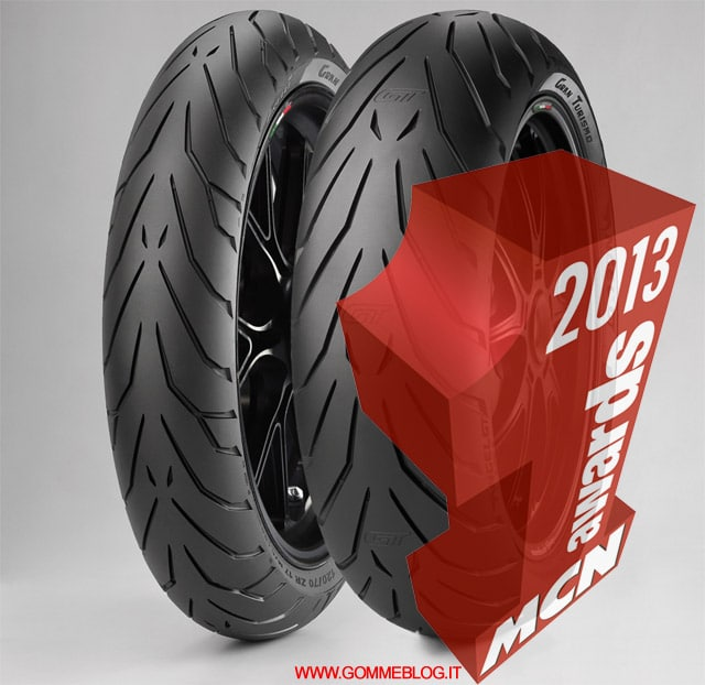 "Pneumatici Moto Sport Touring: Pirelli Angel GT è ""TYRE OF THE YEAR"""