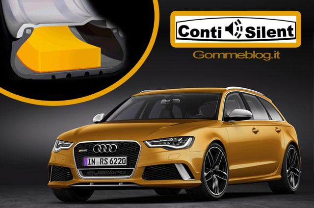Continental ContiSilent: tecnologia che riduce il rumore all'interno dei veicoli