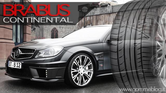 BRABUS sceglie pneumatici Continental UHP