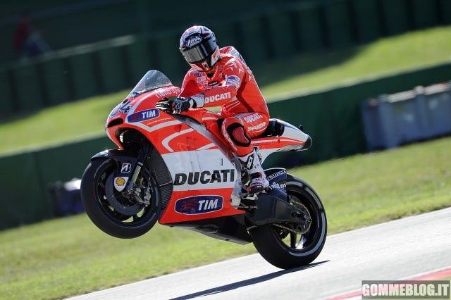 Moto Gp Misano Prove Libere Ducati: Dovizioso 8°, Hayden 12°