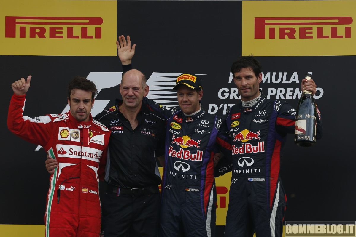 Formula 1 Monza: la gara