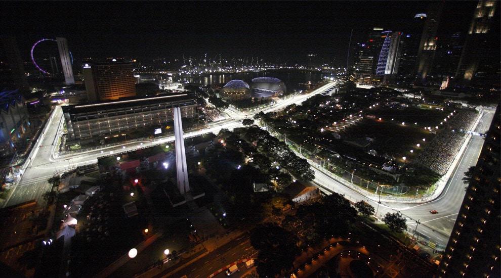 Formula 1 Singapore 2013 : Orari TV DIRETTA SKY - Rai 4