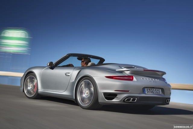 Porsche 911 Turbo e 911 Turbo S Cabriolet