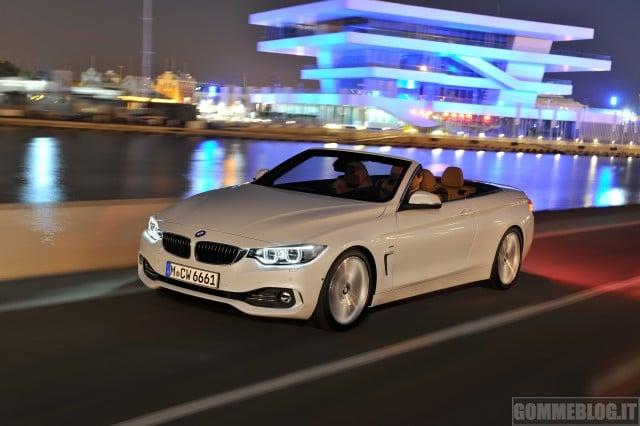 Nuova BMW Serie 4 Cabrio 1