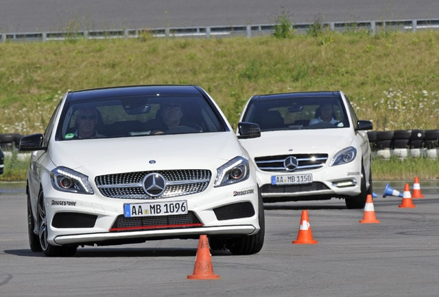 Bridgestone è fornitore gomme Mercedes-Benz Driving Events