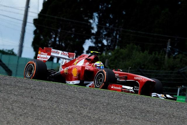 F1 GP del Giappone – Terza e quarta fila per la Ferrari