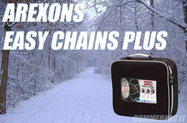 Catene da Neve Arexons Easy Chains Plus 9 mm