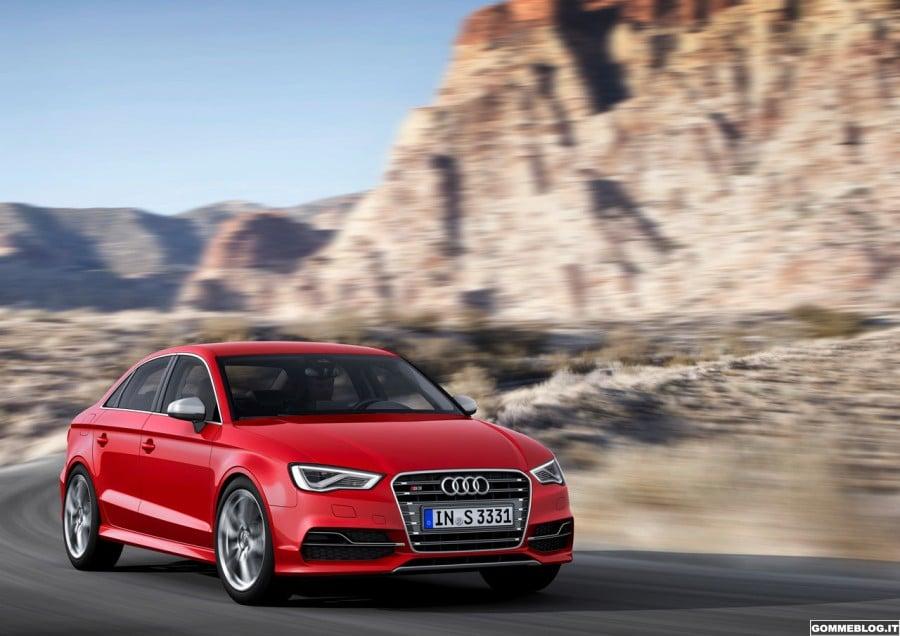 Audi S3 Berlina: nuova Berlina 4 porte da 300 CV