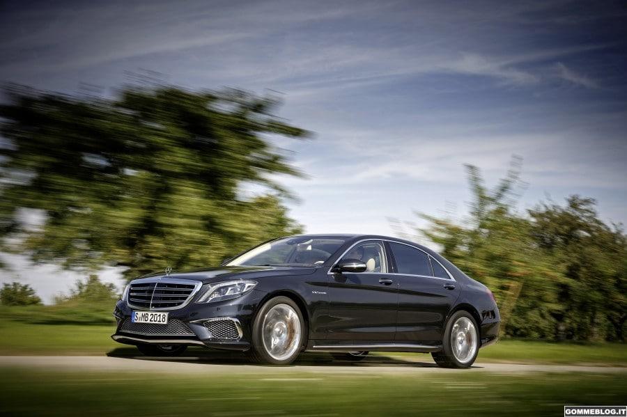 Nuova Mercedes-Benz S 65 AMG: 630CV di Potenza Pura