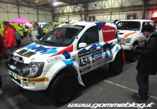 Pneumatici Continental alla Dakar 2014 con Fiat PanDAKAR